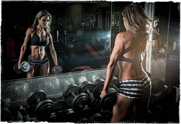 Мотивация девушка и фитнес