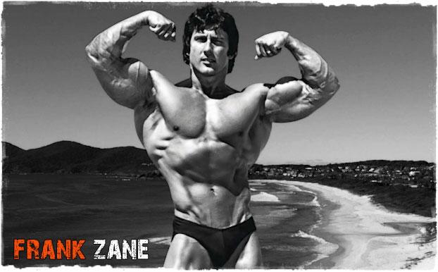 Френк Зейн на пляже
