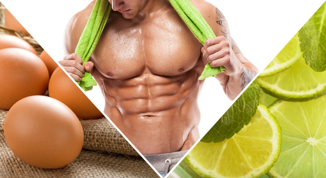 Яйца и лимон в бодибилдинге