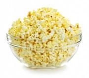 Тарелка попкорна