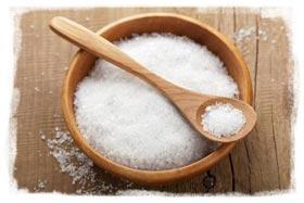 Соль и тарелка