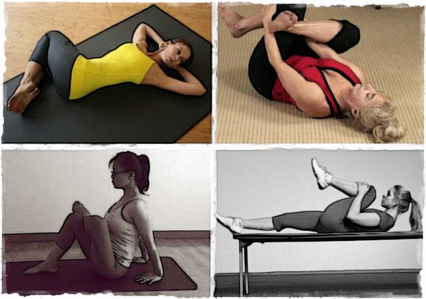 Примеры упражнений на грушевидную мышцу
