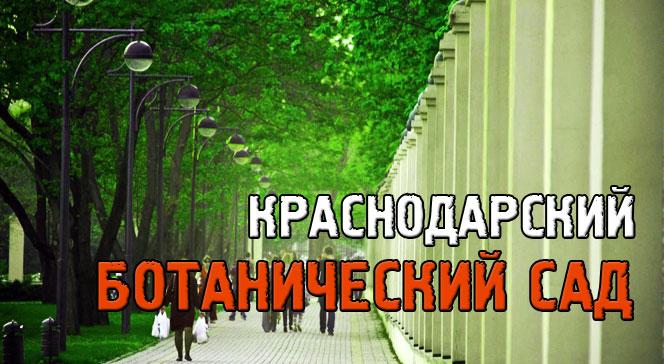 Ботанический сад Краснодара