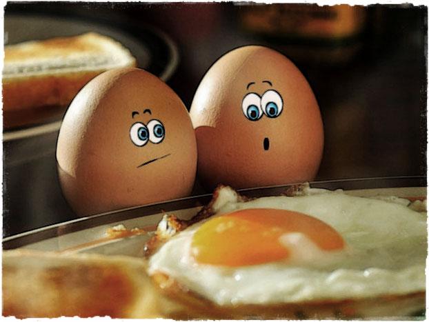 Прикольные яйца