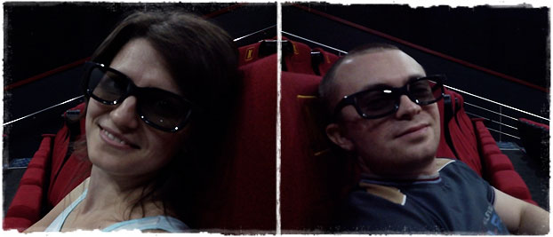 Мы в 3D-кинотеатре