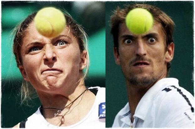 Смешные тенисисты