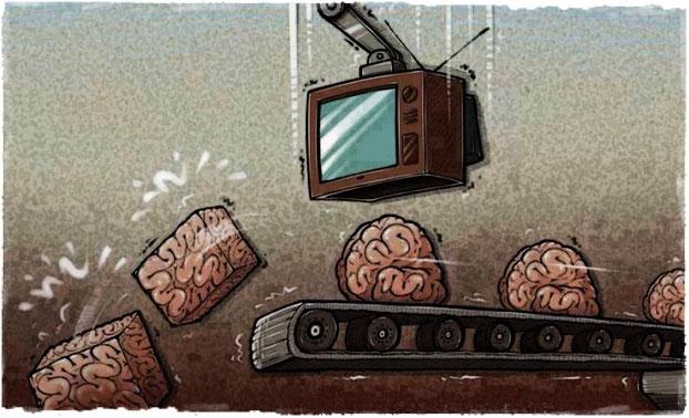 Телевизор это ложь