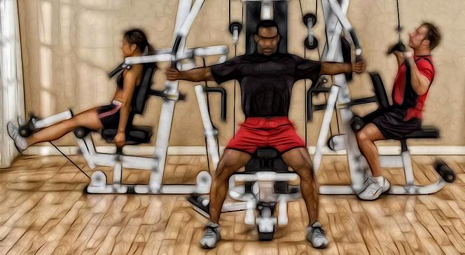 Тренажер развивающий максимальное количество мышц
