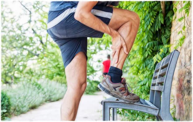 Судороги ног у спортсменов