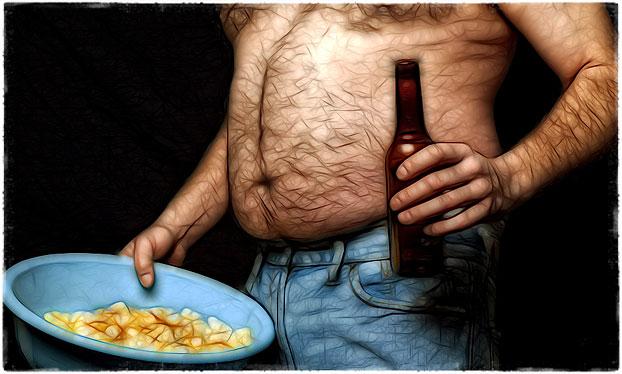 Как убрать целлюлит у мужчин