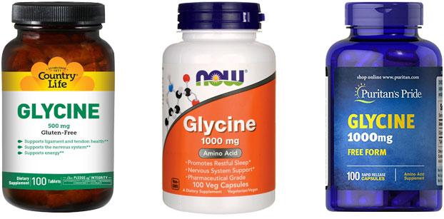 Глицин спортивное питание