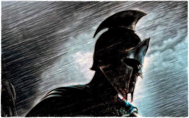Защищайся как спартанец