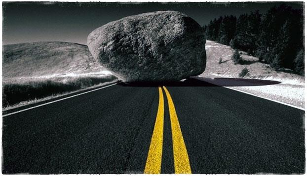 Камень на пути