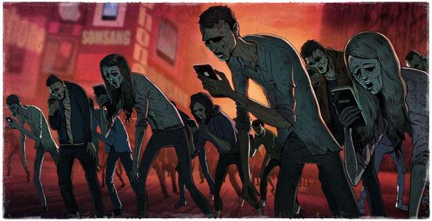 Зомби со смартфонами