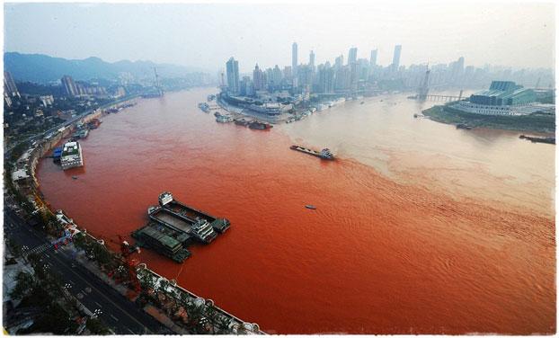 Красный прилив в Китае
