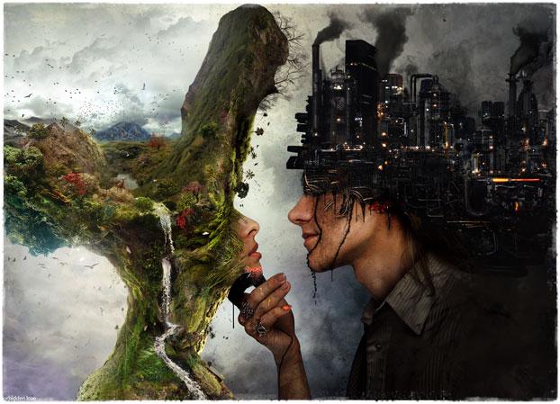 Противостояние природы и фабрик